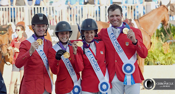 U.S. Show Jumping Team: WEG Gold On Home Turf