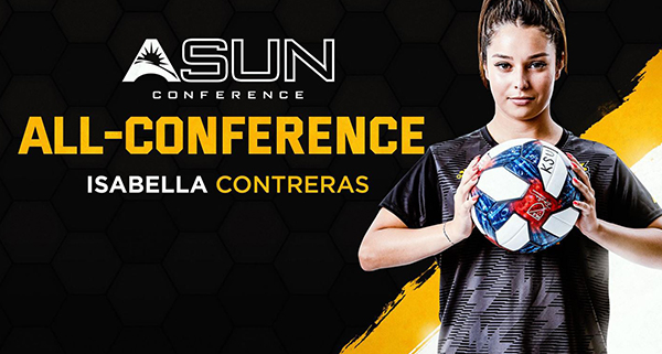 Contreras: Garners Preseason All-ASUN Honor