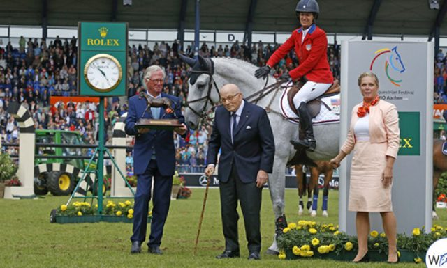 Laura Kraut: Awarded Leading Rider in Aachen