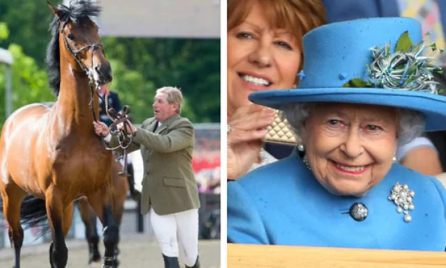 Nick Skelton and Big Star: Ceremony with the Queen